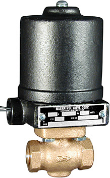 Type 'M' Reduced Port Bronze Solenoid Valve